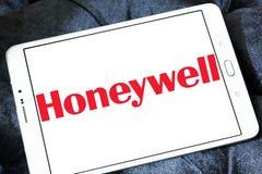 Honeywell bedrijfembleem Stock Foto's