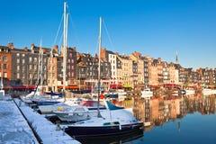 honfleur της Γαλλίας Στοκ Εικόνες