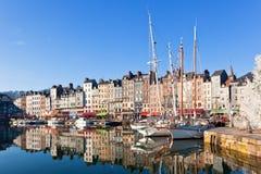 honfleur της Γαλλίας Στοκ εικόνες με δικαίωμα ελεύθερης χρήσης