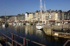 honfleur Нормандия Франции Стоковое фото RF