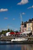 honfleur Нормандия моста Стоковое Изображение