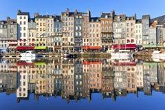 honfleur Франции стоковое изображение rf