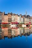 honfleur Франции Стоковые Изображения RF