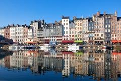 honfleur Франции Стоковое фото RF