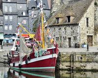 Honfleur Boat Royalty Free Stock Image