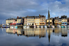 Honfleur Charming Foto de Stock Royalty Free