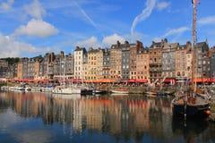 Honfleur, a cidade normanda francesa Imagem de Stock