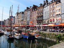 Honfleur city normandy Stock Image