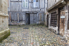 Honfleur em Normandy França Fotografia de Stock Royalty Free