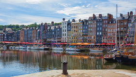 Honfleur, France Stock Photos