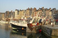 Honfleur, Francia foto de archivo