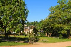 Honfleur Francuski Anglonormański miasteczko Zdjęcia Royalty Free