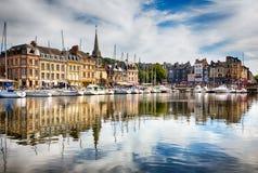 Honfleur, Frankreich lizenzfreies stockfoto