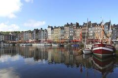 Honfleur Frankrike Royaltyfria Bilder