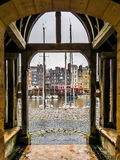 Honfleur Hafen stockfotografie