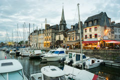 Honfleur harbor Royalty Free Stock Images