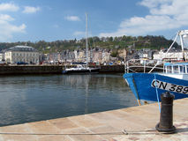 Honfleur harbour Stock Photo