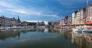 Honfleur harbour France Royalty Free Stock Photos