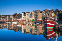 Honfleur Harbour Stock Photography