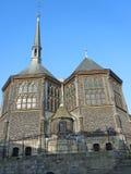 Honfleur-Kirche, Normandie, Frankreich, Europa Lizenzfreie Stockbilder