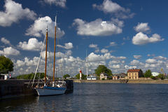 Honfleur landscape Royalty Free Stock Photos