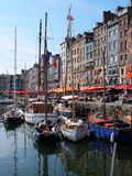 Honfleur miasto Normandy obrazy stock