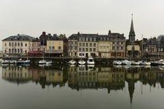 Honfleur (05), Normandía, Francia Fotografía de archivo