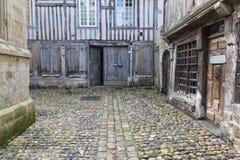 Honfleur in Normandia Francia Fotografia Stock Libera da Diritti