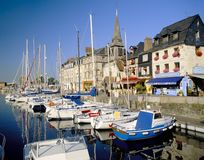 Honfleur, Normandy França fotos de stock