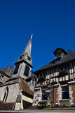 Honfleur old architecture Stock Image