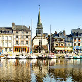 Honfleur town Stock Image