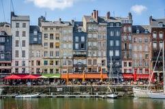 Honfleur un shipperstown de Francia Foto de archivo libre de regalías