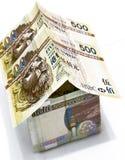 hong доллары kong дома заработали деньги Стоковая Фотография RF