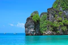 Hong bay Kra bi Andaman sea of Thailand Stock Image
