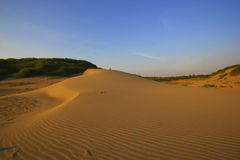 Hong Beach auf Sam Pan Bok, Ubonratchathani (Thailand) Sand von Maekong-Fluss Hong Beach ist Wüste von Thailand Lizenzfreies Stockbild