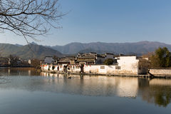 Hong cun. Is an old little town in Anhui Province, China Royalty Free Stock Photography