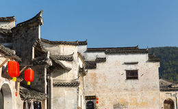 Hong cun. Is an old little town in Anhui Province, China Royalty Free Stock Photos