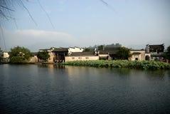 Hong cun, Anhui, Porzellan Lizenzfreie Stockfotos
