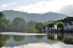 Hong Cun Old Village Water Town Stock Images