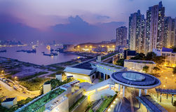 Hong Hong Public Estate Lizenzfreie Stockfotos