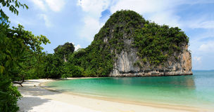 Hong island. Beach in thailand Stock Image