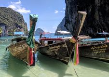 Hong island Krabi. Koh Hong Krapi Stock Photography