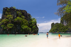 Hong Island, Krabi, Thaïlande Photo stock