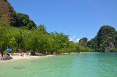 Hong Islands. Beach on the main Hong Island, Andamann Sea, Thailand Royalty Free Stock Photo