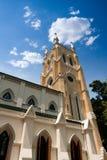 hong katedralny chrześcijański kong zdjęcia stock