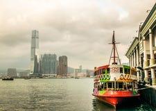 Hong King Boat Stockfotografie