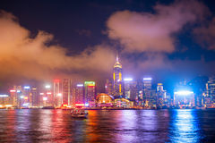 Hong Kond skyline Royalty Free Stock Photo