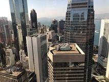 Hong Kong's Cityscape Stock Photography