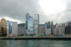 Hong Kong Środkowy Pieniężny okręg Zdjęcie Stock