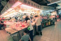 Hong Kong świeżej żywności rynek Obraz Stock